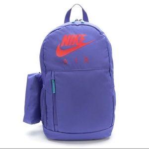 Nike backpack pencil case travel school book bag